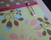 Dots and Pin Folded Card