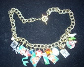 Little Mermaid Tin and Charm necklace