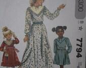 PIF little girls dress pattern
