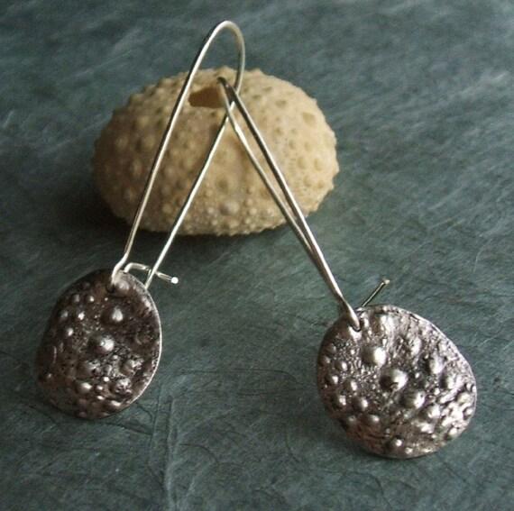 Sea Urchin Drop Earrings