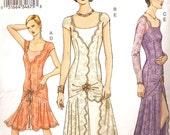 Vogue 7571 flapper dress pattern size (14-16-18)