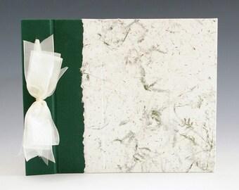 Handmade Photo Album: Green Fern small