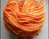 SALE clementine handspun yarn