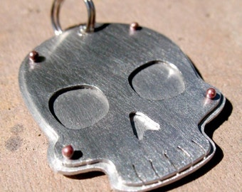 Skull Tag, Custom for your pet