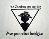 Zombie Warning sign T-shirt
