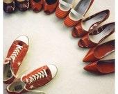 Still Life - Fine Art Photograph  - Polaroid Photography - Shoes - Red Heels - Original Photography - Hello Ladies - Polaroid Film - Alicia