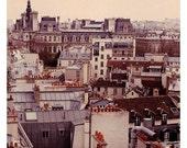 Paris Photography - Paris Rooftops 3 Photograph - French Photography - Paris Skyline - Fine  Art Photograph - Oversized Art - Alicia Bock