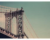 New York City Photograph - NYC - Bridges of NYC Part I - Original Fine Art Photograph of New York City - Landscape - Architecture - Alicia