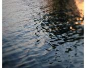 Water Photograph - Nature Photography - Michigan - Lake - Beach Art -  Summer - Fine Art Photograph - Agate - Sparkle - Light - Reflection