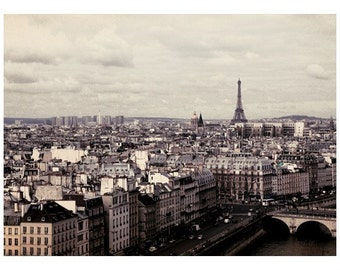 Paris Photograph - French Photography  - Eiffel Tower Photograph - Paris - A Morning In March - Fine Art Photograph
