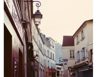 Paris Photograph - French Photograph - Anniversaire- Paris Print - Fine Art Photograph - Pink Art - Travel Print - Alicia Bock-Oversized Art
