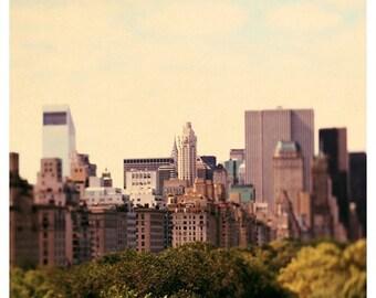 New York Art - NYC Print - Skyline 1 - New York Print - Fine Art Photograph - City Art - Gifts For Travelers - Landscape Photograph - Bock