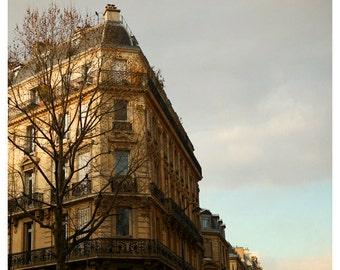 French Photography - Paris Photograph - The Golden Age - Fine Art Photograph - City Art - Springtime in Paris - Paris Art - Alicia Bock Art