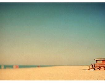 Fine Art Photograph - Beach Photography - Nature Photography - Lido Revisited - Florida Art - Lifeguard Print - Beach Art - Nautical Decor