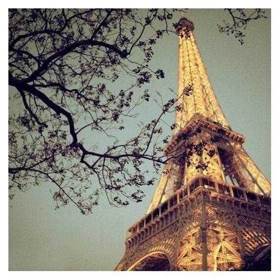 Paris Photograph - Eiffel Tower Art - French Decor - French Photography - Eiffel Tower Photograph - The Blue Hour - Fine Art Photograph