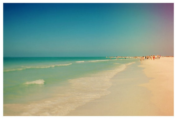 Beach Photograph - Fine Art - Nature Photography - Florida Photograph -  Siesta 6 - Landscape - Seashore - Seaside