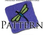PDF Pattern for Dragonfly Coasters