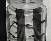 Bat Glass Jar