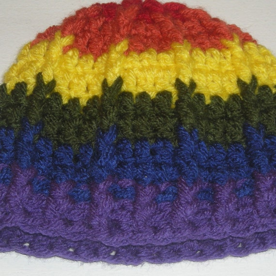 Newborn Gay Pride Hat (On Sale)