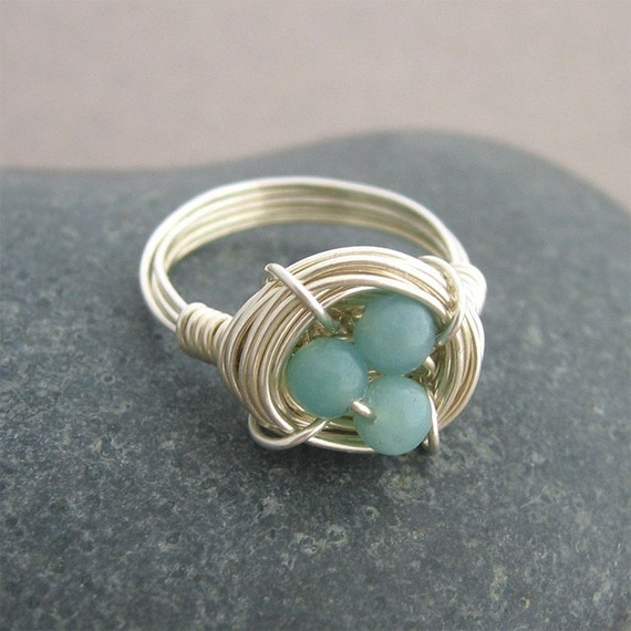 Bird's Nest Ring - Robin's Bird Nest Ring - original and first on Etsy since 2006