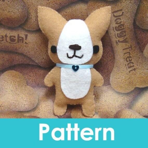 Amigurumi Kingdom Corgi Puppy Dog felt plushie pattern