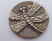 Porcelain Pendant      Dragonfly