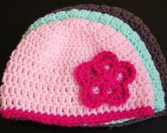 Crochet Hat Pattern - NEW Basic, Versatile Beanie in Four Sizes