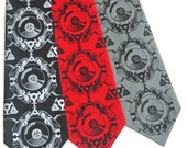 Turntablist Silk Tie
