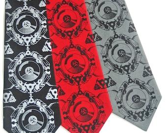 Turntablist Silk Tie
