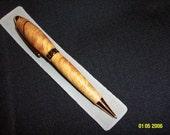 Hand Turned Pen - Olive Wood