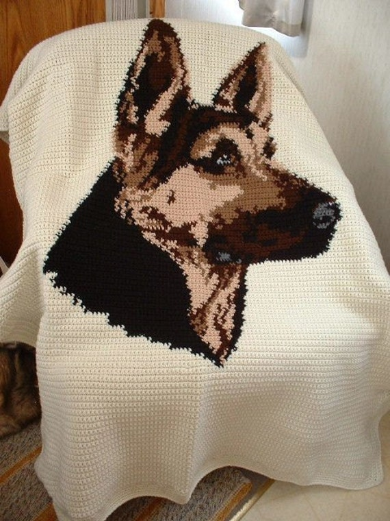 17 Best images about For German Shepherd Owners/Fans on ... |Crochet German Shepherd