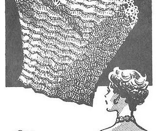 1946 Sexy Halter Top Vintage Crochet Pattern PDF Instant Download 377