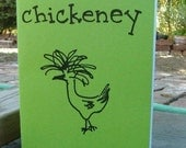 chickeney zine