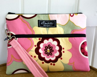 Apple iPad Padded Bag Pouch- Pink Kleo