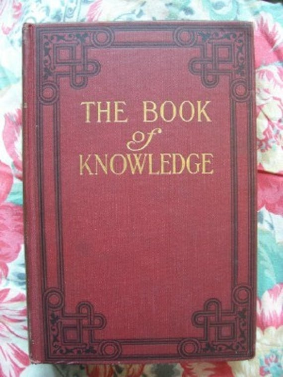 Book of Knowledge Children's Encyclopedia Volume 3 1922