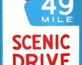 49 Mile Drive print