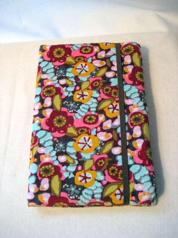 Kindle Cover-Kindle Fire Cover-Nook Cover-Kindle 3 cover- Loves Me Velveteen Fabric-Ready to Ship