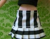SALE-Black and White Pullip Skirt