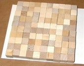 0.5 inch - Unfinished Maple Wood Cubes - 100 Blocks