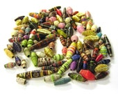 Paper Beads - Odds and Ends - 40 Beads