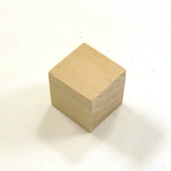Items similar to inch unfinished maple wood cubes