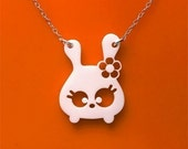 Tumsy the bunny necklace