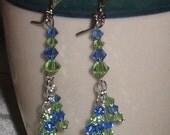 For MOVIESTAR ----  VIRGO Dangle Earrings