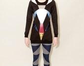 Quadrocepticon Crew Sweatshirt Dress WOMENS