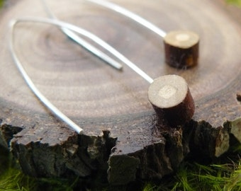Tiny Stump, Earrings Medium