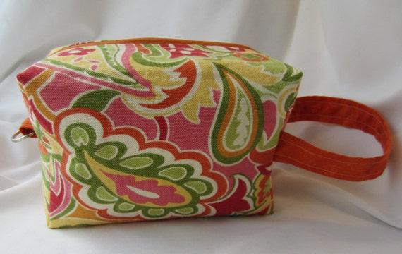 Citrus Paisley Box Bag - Scratch and Dent