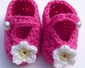 Sweet Pea Baby Booties