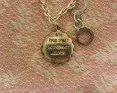 Adultery charm necklace