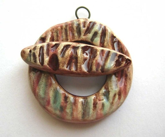 Handmade Toggle Clasp-Sping Twigs