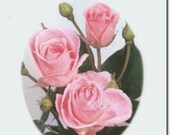FC0110 Pink Roses Mothers Day Greeting Card